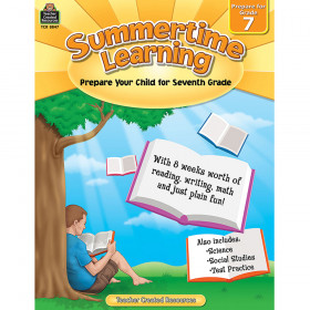 Summertime Learning (Prep. for Gr. 7)