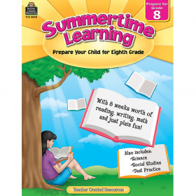Summertime Learning (Prep. for Gr. 8)