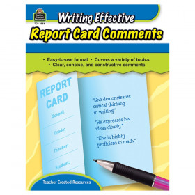 Writing Effective Report Card Comments Book