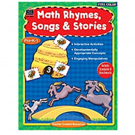 Full-Color Math Rhymes Songs & Stories