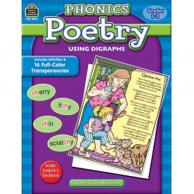 Phonics Poetry Using Digraph Gr 1-3