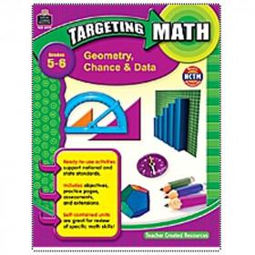 Targeting Math Geometry Chance & Data Gr 5-6