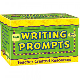 Writing Prompt Card, Grade 1, Pack of 120