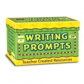 Writing Prompt Card, Grade 7, Pack of 120