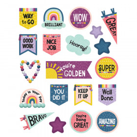 Oh Happy Day Stickers, Pack of 120