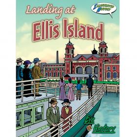 Landing At Ellis Island