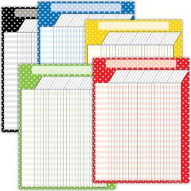 Polka Dot Charts Set (5 charts)