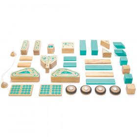 Magnetron Wooden Block Set