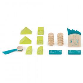 Zip Zap Wooden Block Set