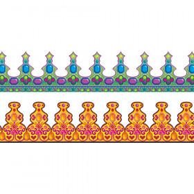 Classroom Crowns 36Pk 2 Designs 24L