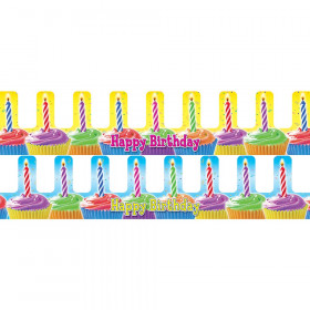 Birthday Cupcake Crowns, Pack of 36
