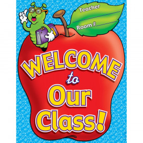 """Welcome to Our Class"" - Friendly Chart / Poster"