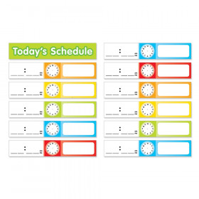 Add-Ons Schedule Cards, Pocket Chart, 24 cards