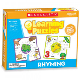 Rhyming Learning Puzzles