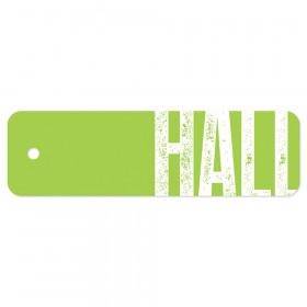 Plastic Hall Pass, Big Type Hall Pass