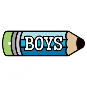 Plastic Hall Pass, Boys Pencil