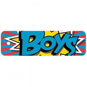 Plastic Hall Pass Action Boys Pass
