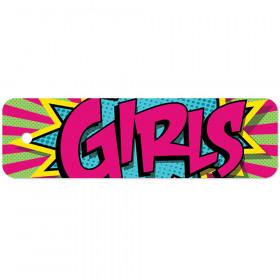 Plastic Hall Pass Action Girls Pass