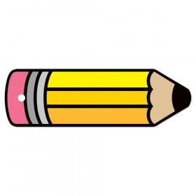 Plastic Hall Pass Blank Pencil