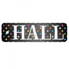 Plastic Hall Pass, Chalkboard Dots Hall Pass