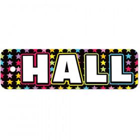 Plastic Hall Pass Neon Black