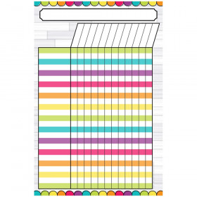 """Magnetic Write & Wipe DIY Magnetic Incentive Chart, 12"""" x 18"""""""