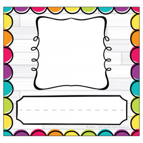 DIY Dots Picture Plates, Pack of 32