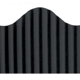 "Trim-Eze Corrugated Border, Black, 2.25"" x 50'"