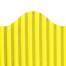 "Trim-Eze Corrugated Border, Yellow, 2.25"" x 50'"