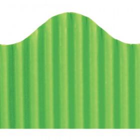 Corrugated Border Granny Green