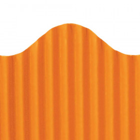 "Trim-Eze Corrugated Border, Orange, 2.25"" x 50'"