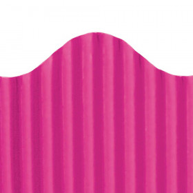 "Trim-Eze Corrugated Border, Magenta, 2.25"" x 50'"