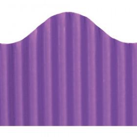 "Trim-Eze Corrugated Border, Purple, 2.25"" x 50'"