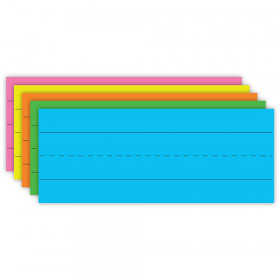Flash Cards Brite Asst Lined 75Ct