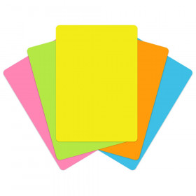 Pocket Chart Cards, Brite Colors, 100ct