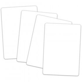 Pocket Chart Cards White