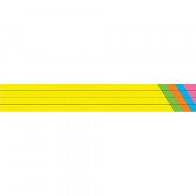 Tag Weight Sentence Strips, Bright Assorted, Pack of 75