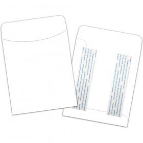 Brite Pockets, Bright White, Peel & Stick, Pack of 25