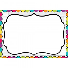 DIY Dots Name Tags, Pack of 32