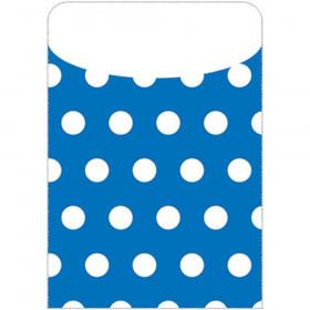 Brite Pockets Blu Polka Dots 35/Bag