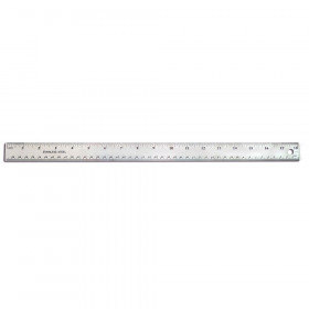 "18"" Stainless Steel Ruler"