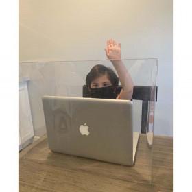 Personal Space Desk Dividers, PreK-Elementary, Clear, Single