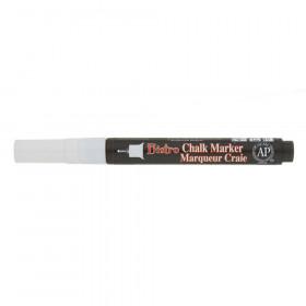Bistro Single White Marker, Extra Fine Tip