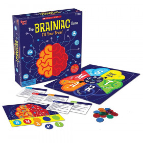 Scholastic The Brainiac Game