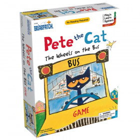 Pete the Cat Wheels on the Bus Game