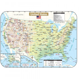 Shaded State Wipe-Off Maps, U.S.