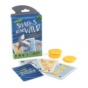 Sharks Are Wild Children's Card Game