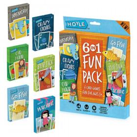 6 in 1 Fun Pack Classic Children's Games