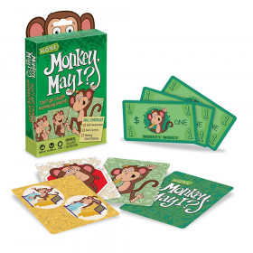 Monkey May I Children's Card Game