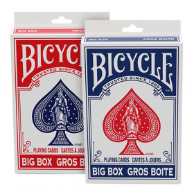 Big Box Mixed Red/Blue Playing Cards, 6 Decks